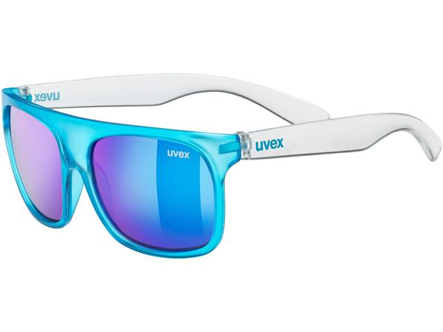 UVEX Sportstyle 511 Glasses Kids, blue transparent/blue